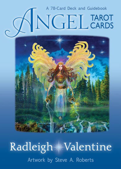 Angel Tarot Cards (78-Card Deck and Guidebook, Radleigh Valentine)