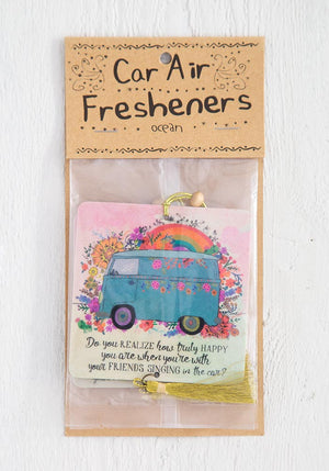 Do You realize How Truly Happy You Are When You're With Your Friends Singing in the Car? Car Air Freshener