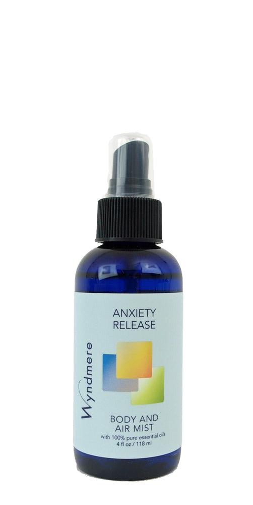 Anxiety Release Body & Air Mist (118ml, with Essential Oils)