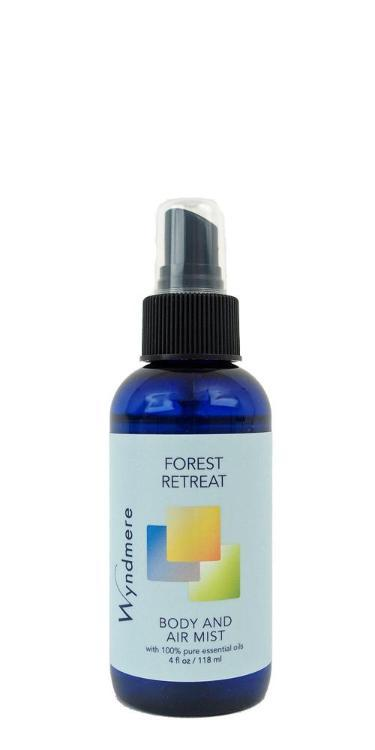 Forest Retreat Body & Air Mist (118ml, with Essential Oils)