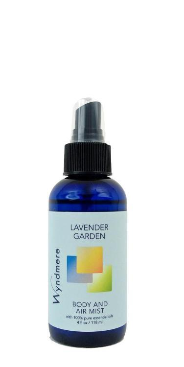 Lavender Garden Body & Air Mist (118ml, with Essential Oils)