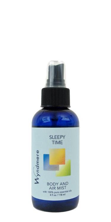 Sleepy Time Body & Air Mist (118ml, with Essential Oils)