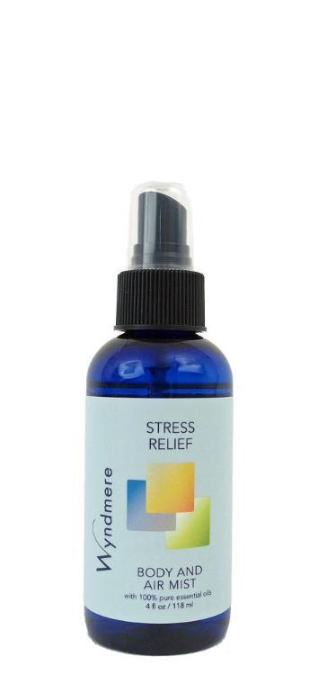 Stress Relief Body & Air Mist (118ml, with Essential Oils)