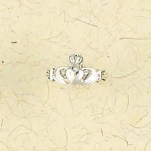 Claddagh Sterling Silver Ring