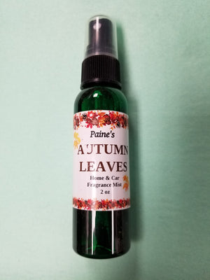 Autumn Leaves Home & Car Mist Fragrance Spray