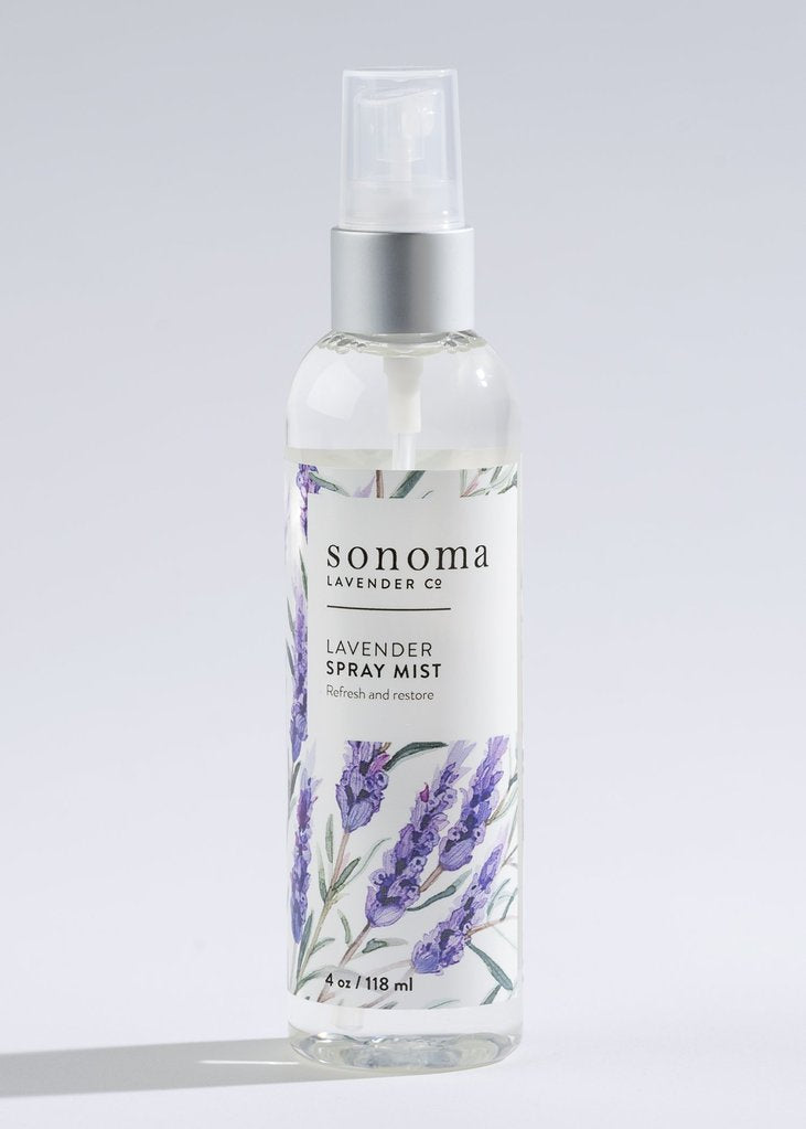 Lavender Spray Mist ~ Sonoma Lavender Luxury Spa Gifts