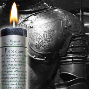 Protection ~ Blessed Herbal Candle