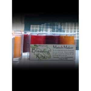 Matchmaker ~ Blessed Herbal Candles Blessing Kit
