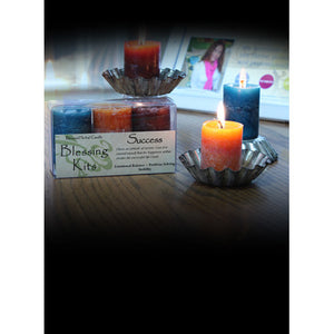 Success Blessing ~ Blessed Herbal Candles Blessing Kit