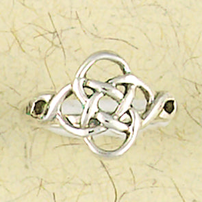 Celtic Weave Sterling Silver Ring