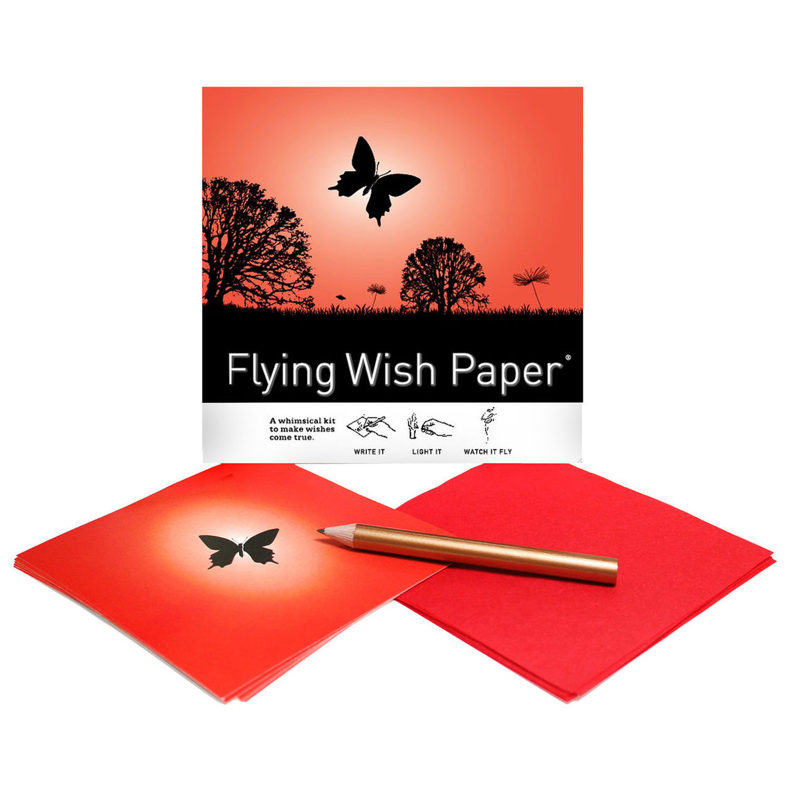 Butterfly Mini Flying Wish Paper Kit