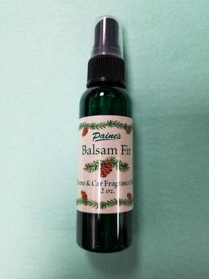 Balsam Fir Home & Car Mist Fragrance Spray