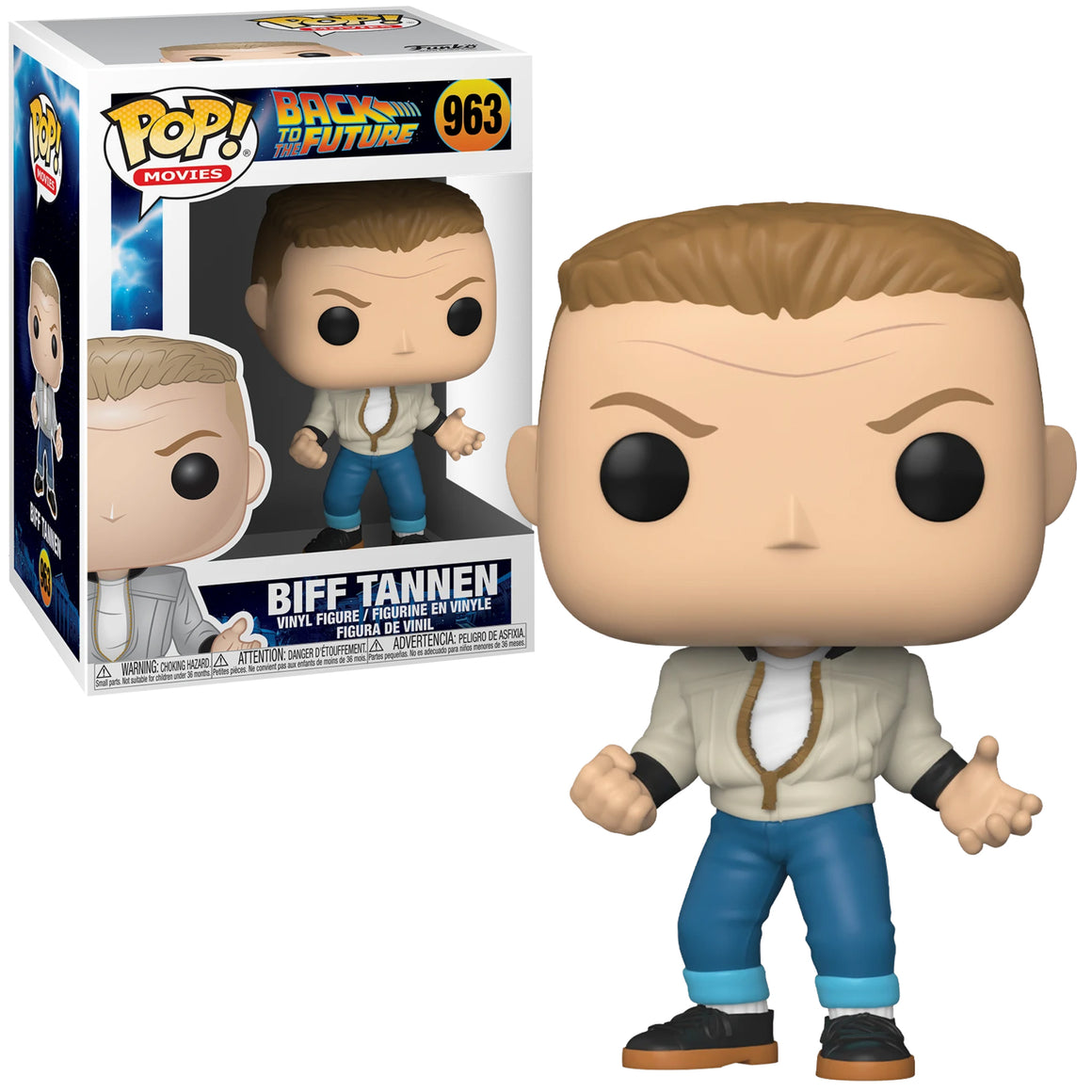 Funko Pop Vinyl Figurine Biff Tannen #963 - Back to the Future