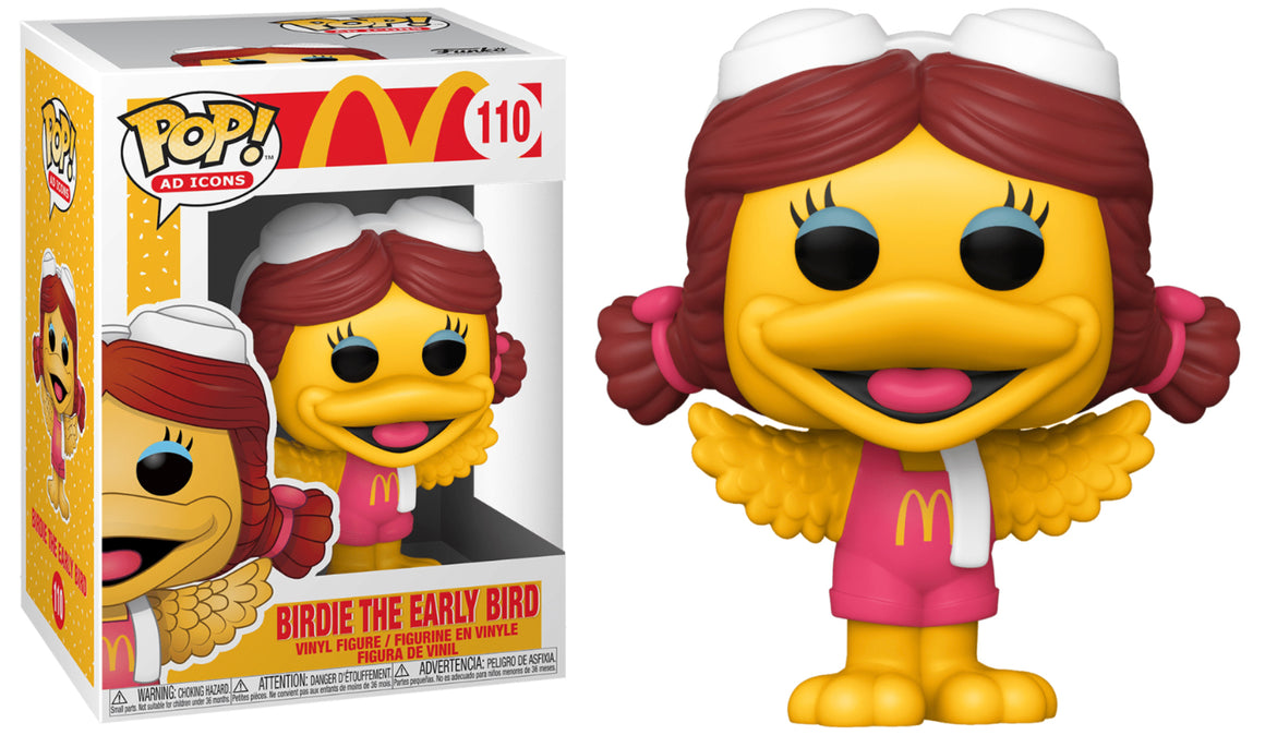 Funko Pop Vinyl Figurine Birdie The Early Bird #110 - McDonald's