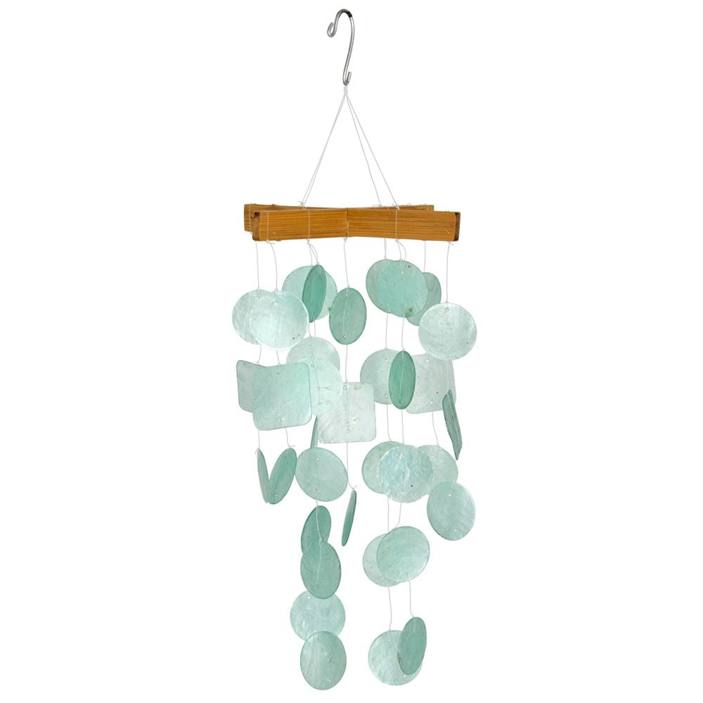 Mini Capiz Wind Chimes - Multiple Colors