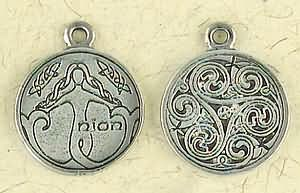 Celtic Astrology ~ Nion ~ Pewter Necklace