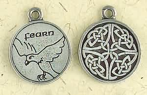 Celtic Astrology ~ Fearn ~ Pewter Necklace