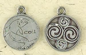 Celtic Astrology ~ Coll ~ Pewter Necklace