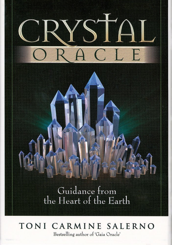 Crystal Oracle Cards Deck ~ Guidance from the Heart of the Earth