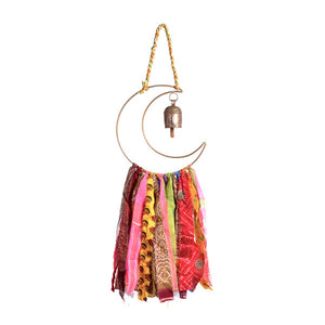 Lunar Moon Swapna Sari Tassels Dream Chime