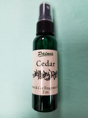 Cedar Home & Car Mist Fragrance Spray