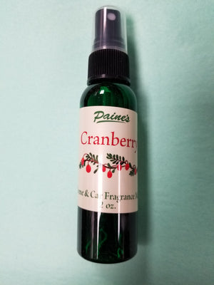Cranberry Home & Car Mist Fragrance Spray
