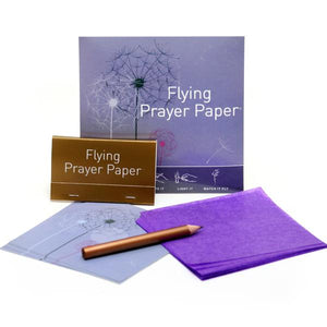 Dandelion Prayer Mini Flying Wish Paper Kit