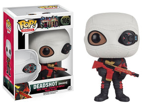 Funko Pop Vinyl Retired Figurine Deadshot Masked Suicide Squad Will Smith Floyd Lawton