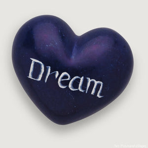 Dream Heart-shaped Stone Handcrafted in Kenya