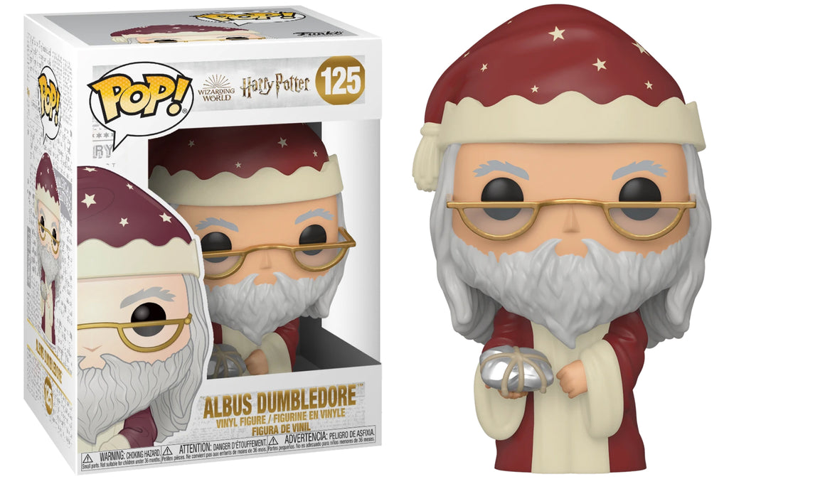 Funko Pop Vinyl Figurine Albus Dumbledore Holiday #125