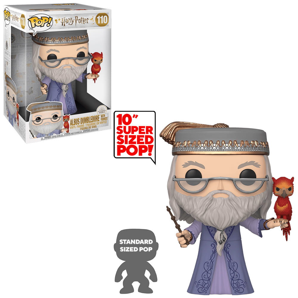 Funko Pop Vinyl Figurine 10-inch Albus Dumbledore with Faux #110 - Harry Potter