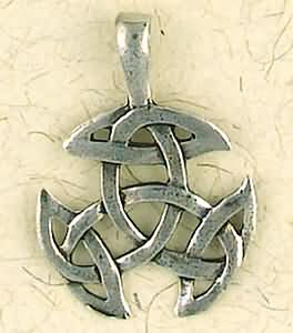Celtic Weave ~ Pewter Necklace ~ Eire, The Celtic Collection