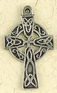 Celtic Cross ~ Pewter Necklace ~ Eire, The Celtic Collection