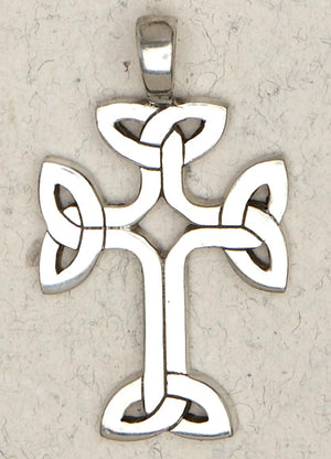 Celtic Infinity Cross ~ Pewter Necklace ~ Eire, The Celtic Collection