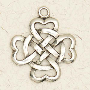 Celtic Weave with Circle ~ Pewter Necklace ~ Eire, The Celtic Collection