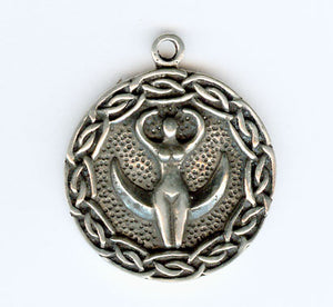 The Nile Goddess ~ Pewter Necklace ~ Earth Mother, The Goddess Collection