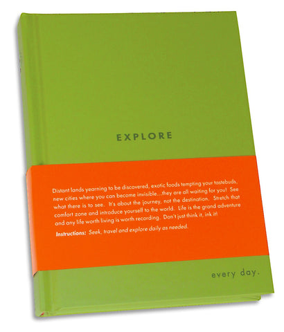 EXPLORE - Every Day Journal