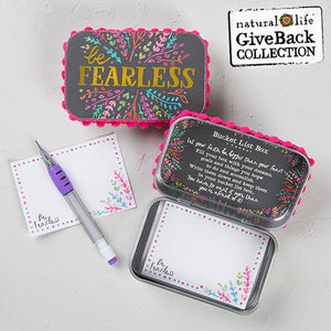 Be Fearless ~ Prayer Box