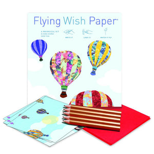 Hot Air Balloons Large Flying Wish Paper Kit