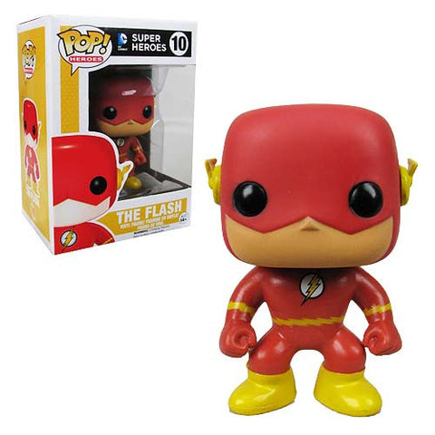 Funko Pop Vinyl Figurine The Flash DC Comics/Scarlet Speedster/Crimson Comet