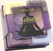 Meditation Herbal Candle Gift Set