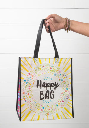 Happy Bag Recycled Grocery Tote