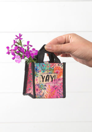 YAY! Tiny Recycled Happy Bag (XS)