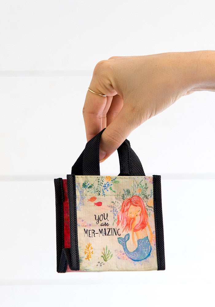 You are Mer-mazing Tiny Recycled Happy Bag (XS)