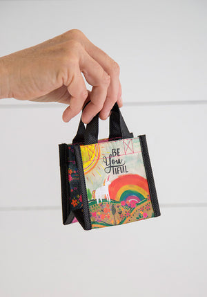 Unicorn BeYoutiful Tiny Recycled Happy Bag (XS)