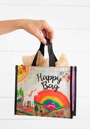 Unicorn Medium Recycled Happy Bag (M)