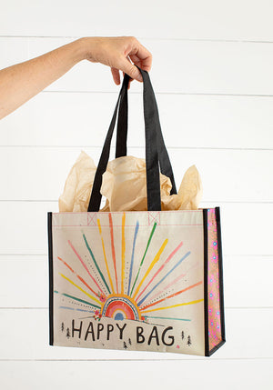 Sunrise Burst Large Recycled Happy Bag (L)