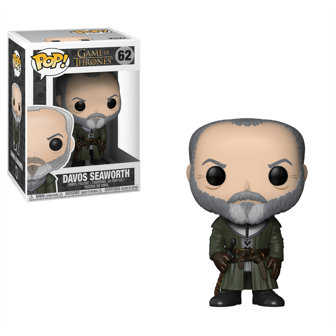 Funko Pop Vinyl Figurine Davos Seaworth - Game of Thrones