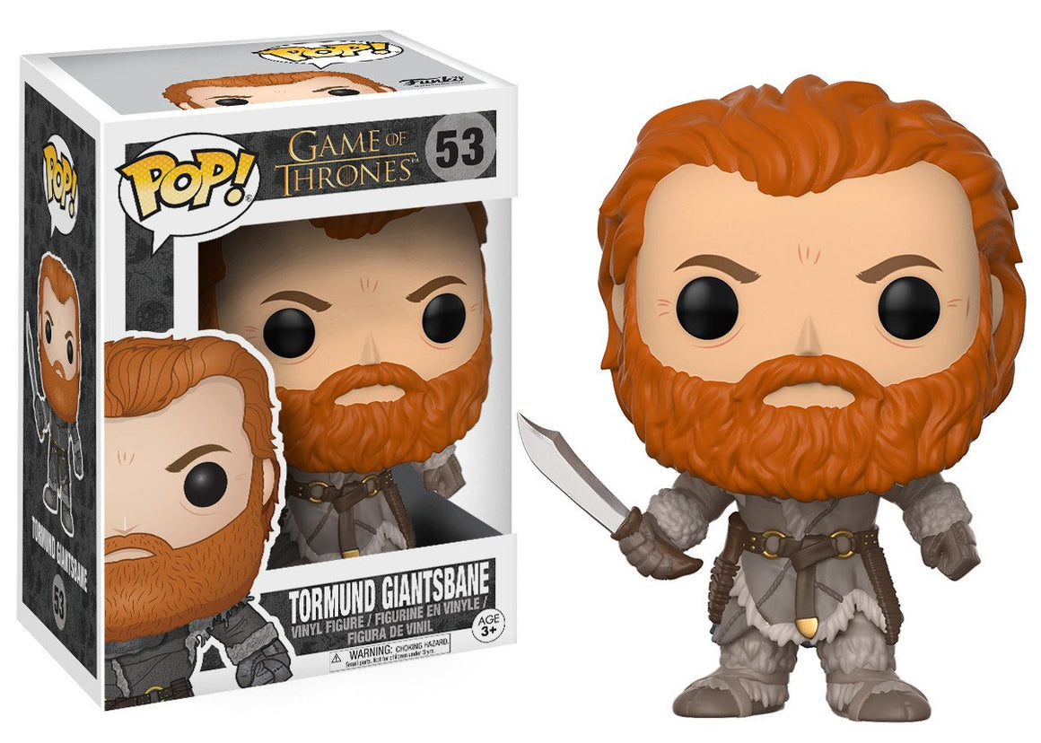 Funko Pop Vinyl Figurine Tormund Giantsbane #53 - Game of Thrones