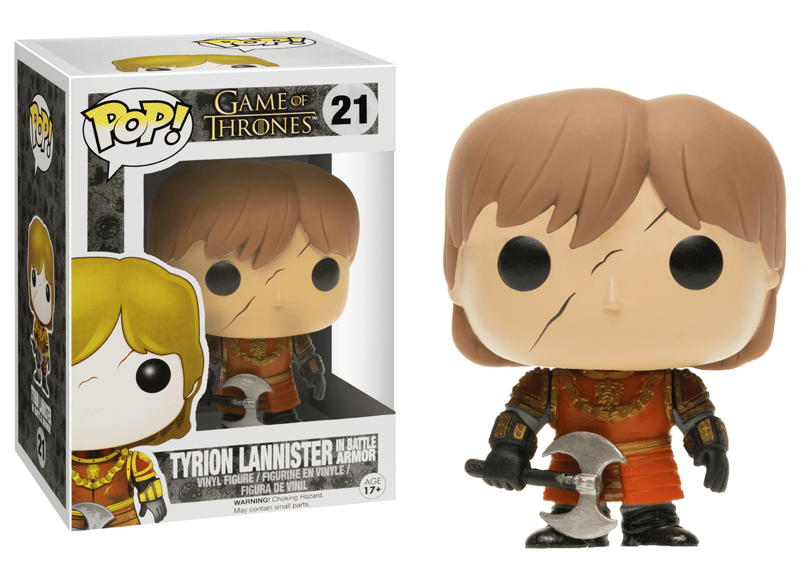 Funko Pop Vinyl Figurine Game of Thrones - Tyrion Lannister Battle Armor